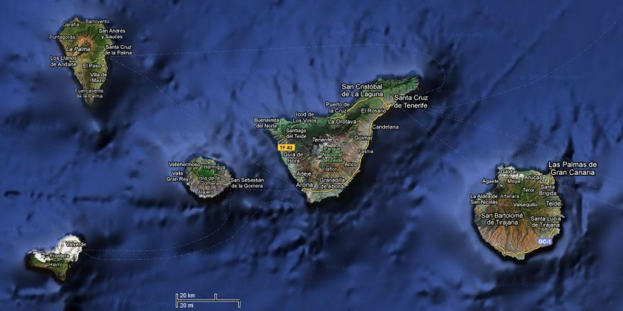 Kanarske Ostrovy Tenerife